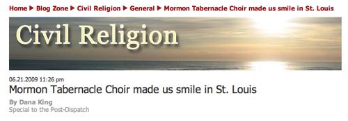 St. Louis Civil Religion